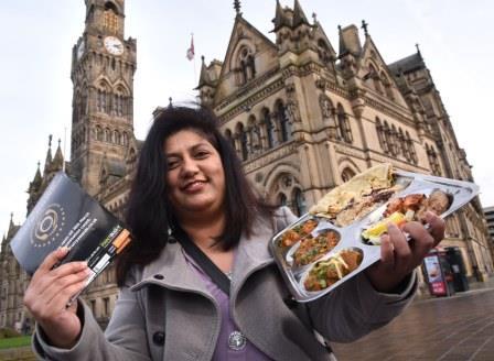 Fatima Patel launching Bradford Curry Awards www.thetelegraphandargus.co.uk