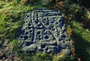 Early stone markings, Baildon Moor