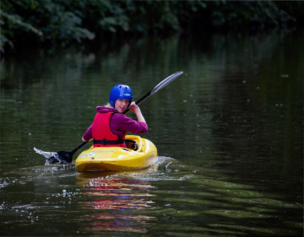 Kayaking on the Canal, Deborah Clarke