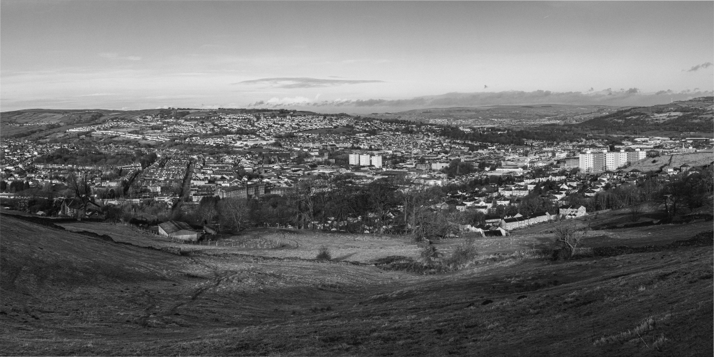 Panorama of Keighley, Christine Taylor