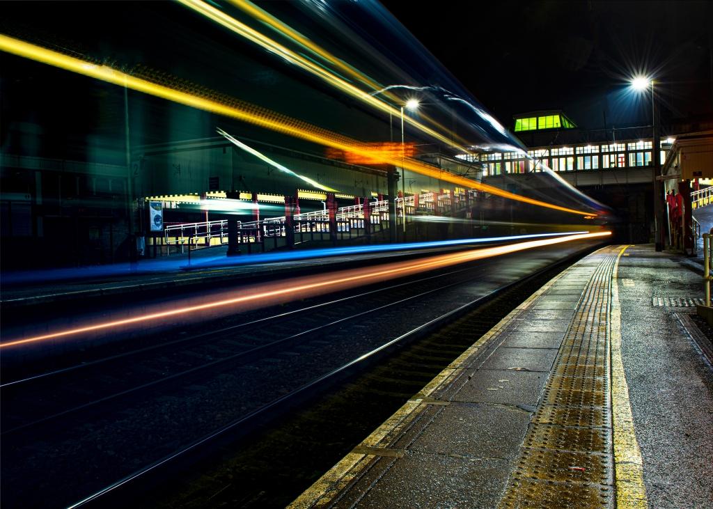 View Through Moving Train, Rais Hasan