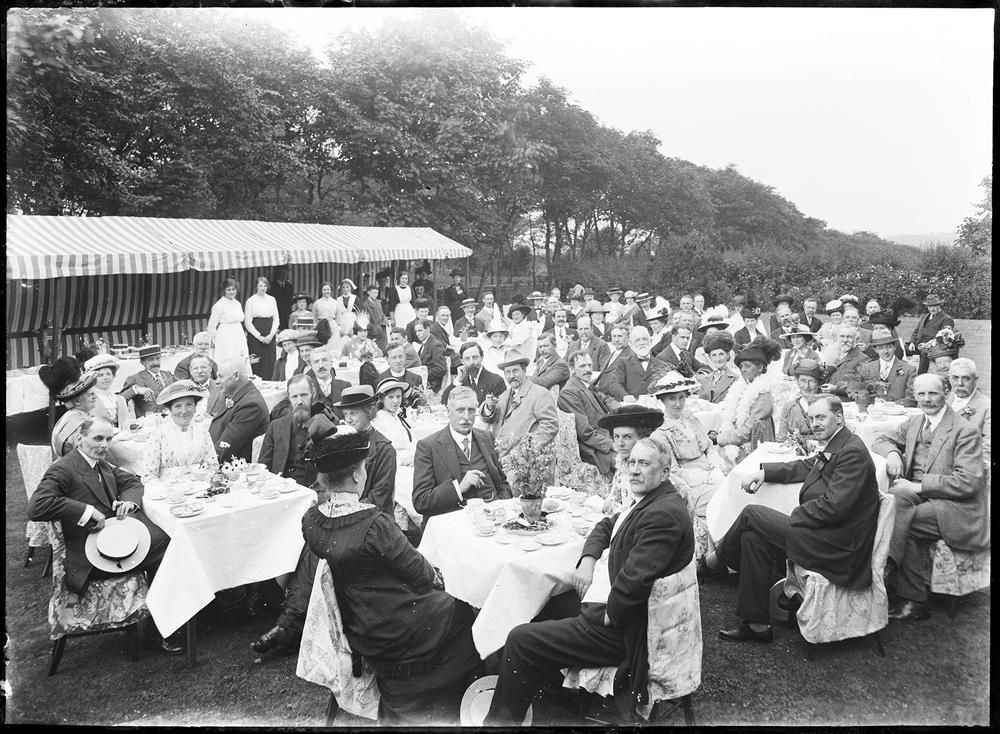 Garden Party at Highcliffe House