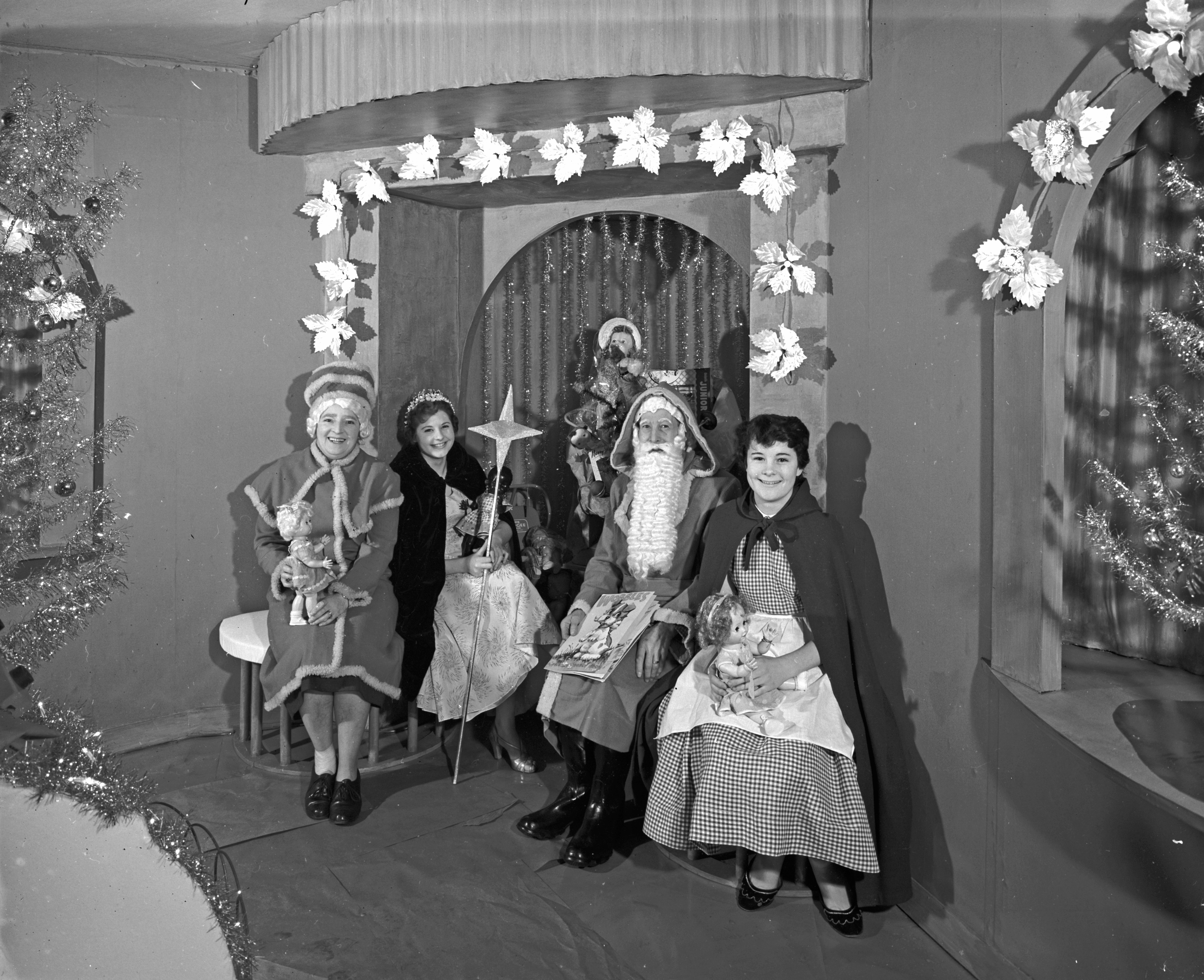Busbys' Father Christmas and Grotto, Busbys' department store, Bradford