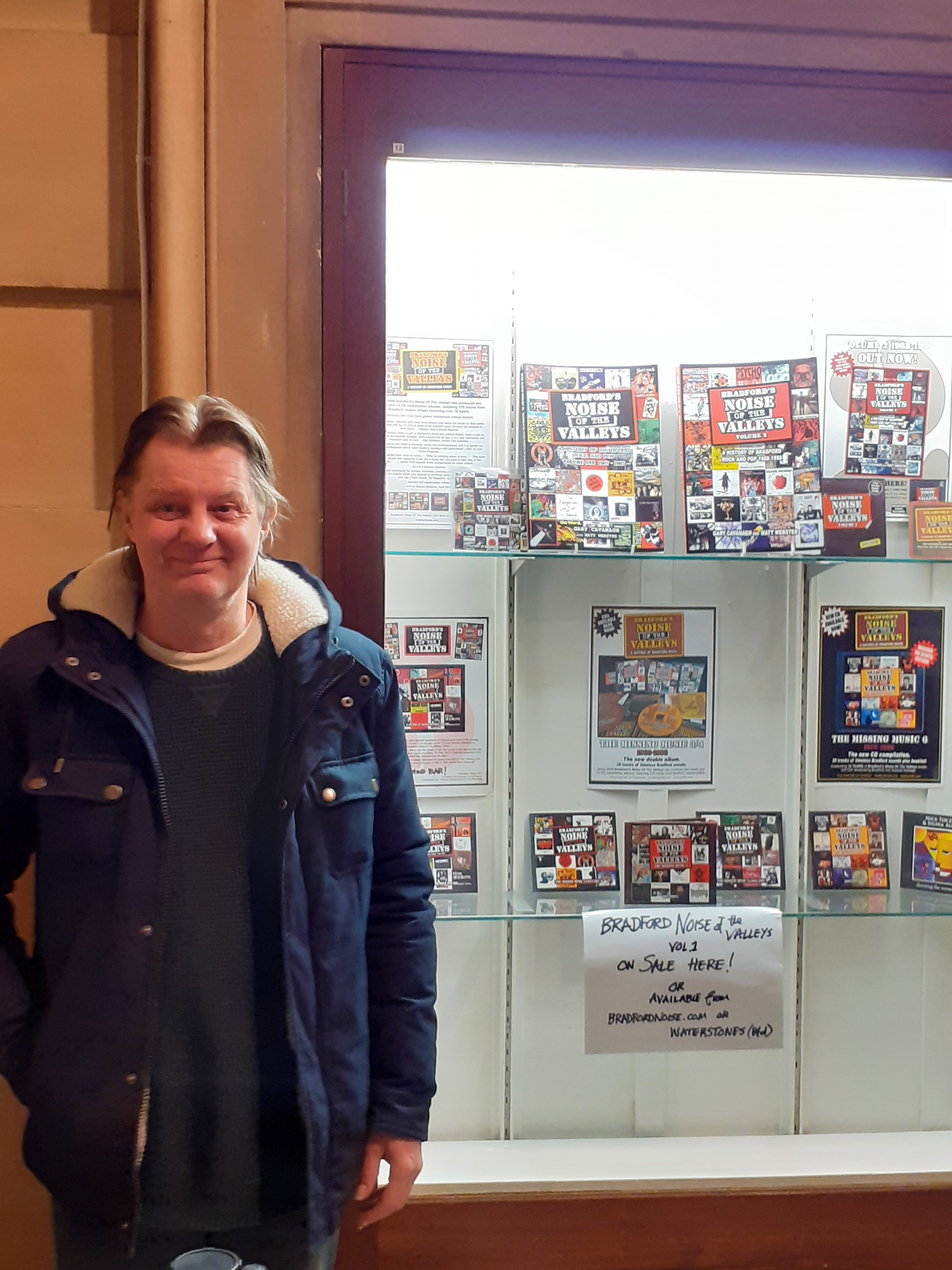 Gary - contributor to the show and author of Bradford's Noise of the Valleys with Matt Webster.
