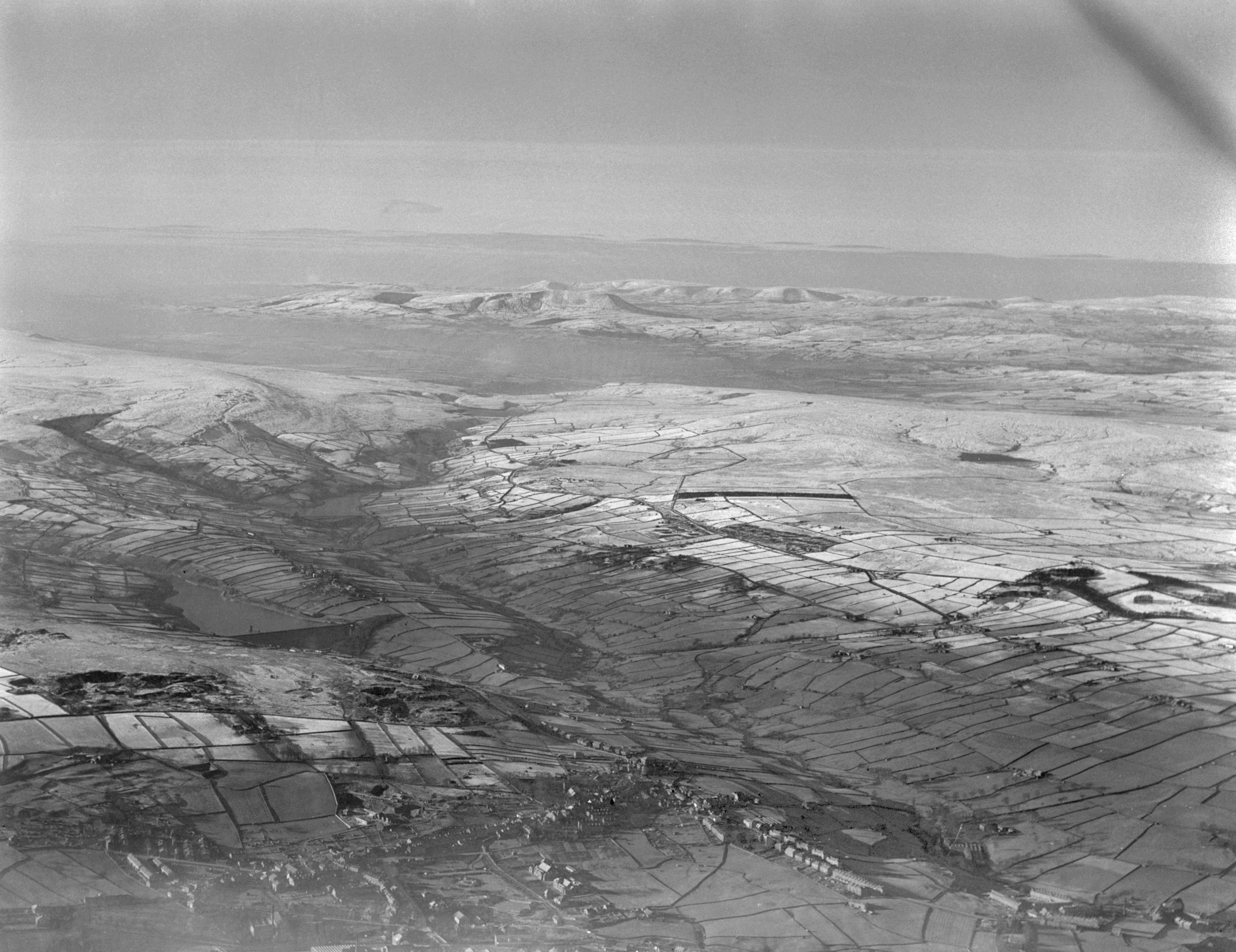 Aerial view of Haworth